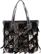 Nicole Lee Women's Danielle Fringe Hobo Bag