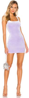 superdown Jenny Square Neck Dress
