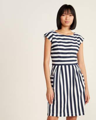 Emily And Fin Zoe Nautical Stripe Dress