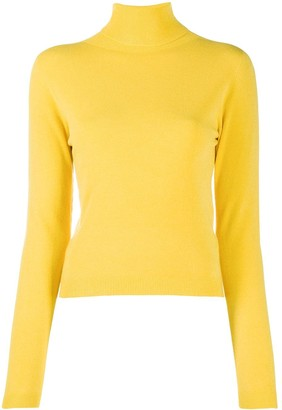 Ermanno Ermanno Slim-Fit Roll-Neck Jumper