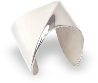 Cristina Cipolli Jewellery Sharch Solid Bangle Sterling Silver