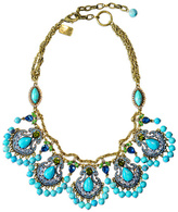 Badgley Mischka Jewelry Entrancing Blue Necklace