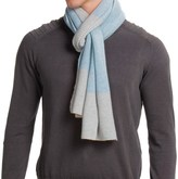 Portolano Dorset Stripe Scarf - Merino Wool (For Men)