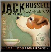 Art.com ''Jack Russell Coffee Co.'' Wood Wall Art