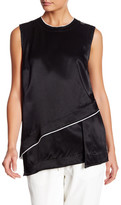 DKNY Two-Tone Asymmetric Tank