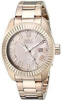 Invicta Women's 20317SYB Angel Rose Gold-Tone Stainless Steel Watch