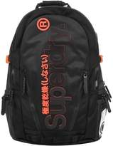 Superdry Two Tone Tarp Backpack Black