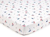 BreathableBaby Super Dry Cot Sheets In Seaside by