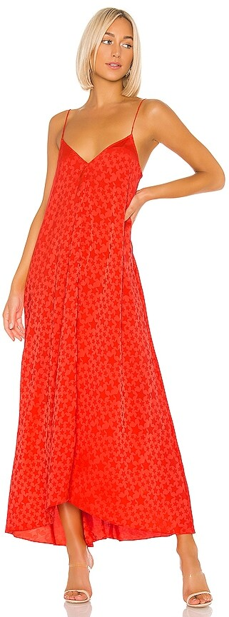 L'Academie The Amine Maxi Dress
