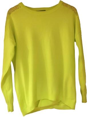 Karen Millen Yellow Cotton Knitwear for Women