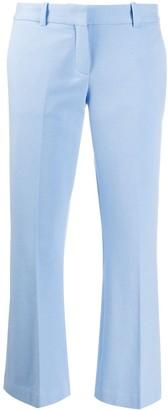 Circolo 1901 Cropped Kick-Flare Trousers