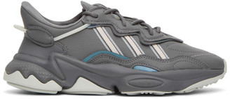 adidas Grey Ozweego Sneakers