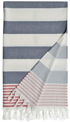 Linum Home Textiles 'Patriotic' Turkish Pestemal Towel
