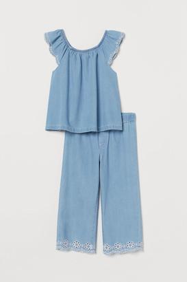 H&M 2-Piece Cotton Denim Set