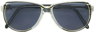 Yves Saint Laurent Pre-Owned Round Frame Sunglasses