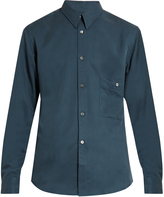 Lemaire Button-cuff silk-twill shirt