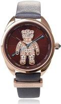 Vivienne Westwood Women's VV103BRGY Crazy Bear Analog Display Swiss Quartz Watch