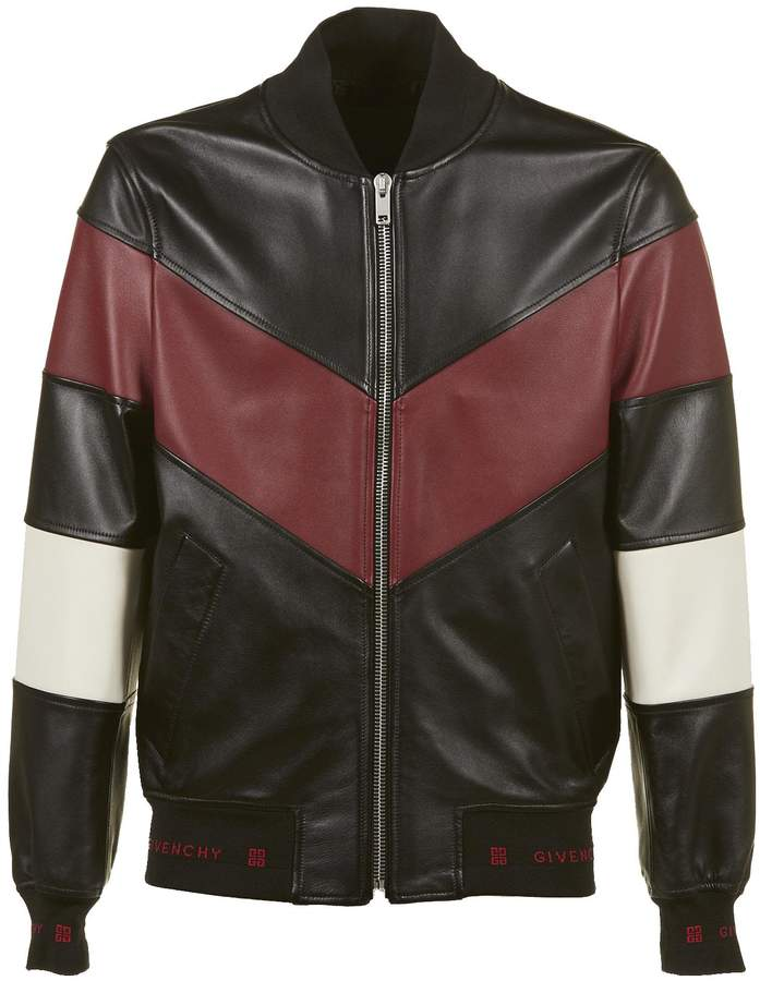 Givenchy Classic Leather Bomber