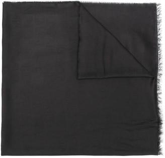 Emporio Armani frayed scarf