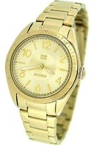 Tommy Hilfiger Women's 1781278 Casual Sport Gold-Plated 3-Hand Watch