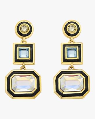 Isharya Glitter on the Go Swarovski Drop Earrings