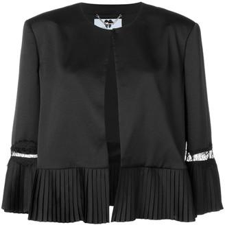 Blumarine pleated detail jacket