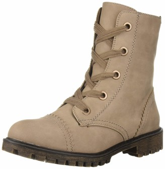 Roxy Women's Addie Lace Up Combat Boot