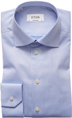 Eton Light Blue Signature Twill Shirt - Contemporary Fit