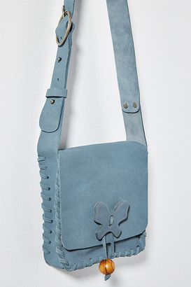 Anna Sui Lauren Crossbody Bag By in Blue Size ALL