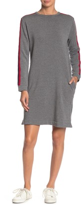 Velvet by Graham & Spencer Breck Tape Crew Neck Sweater Dress