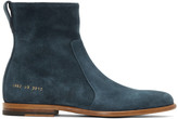 Robert Geller Blue Common Projects Edition Chelsea Boots