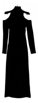 Balmain Black Wool Dresses