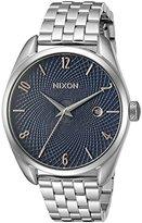 Nixon Women's A4182195-00 Bullet Analog Display Japanese Quartz Silver Watch