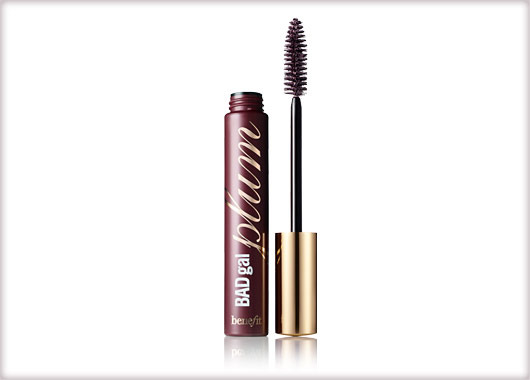 Benefit BADgal plum mascara eye color intensifying mascara