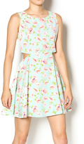 Day & Night Cut Out Tulip Dress
