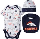 Gerber Denver Broncos 'Forever' Bib Set