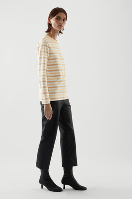 Cos Wide Neck Long Sleeve T-Shirt
