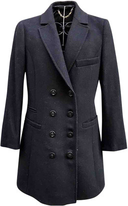 Annie P. Black Wool Coats
