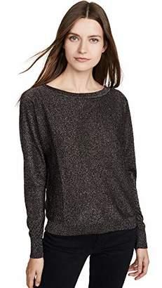 Velvet by Graham & Spencer Women's Abril Lurex Shine Sweater