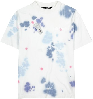 Palm Angels Tie-dyed cotton T-shirt