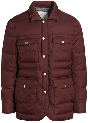 Brunello Cucinelli Mid-Length Puffer Jacket