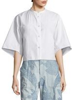Acne Studios Bridget Button Front Shirt