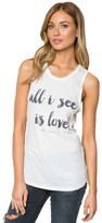 Spiritual Gangster All I See Is Love Muscle Tank