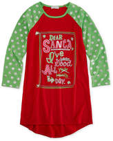 Asstd National Brand Long Sleeve Nightgown-Big Kid Girls