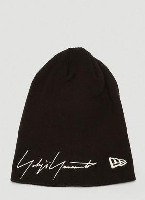 Yohji Yamamoto Embroidered Logo Beanie Hat
