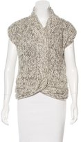 Giambattista Valli Wool-Blend Sleeveless Top