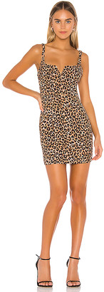 LIKELY Leopard Constance Dress