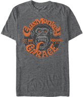 Fifth Sun Charcoal Heather Hot Rod Face Tee - Men's Regular