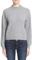 Frame Women's Rib Knit Crop Cashmere Sweater