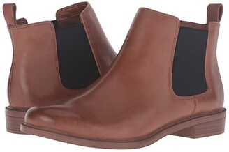 Clarks Taylor Shine (Black Leather) Women's Boots